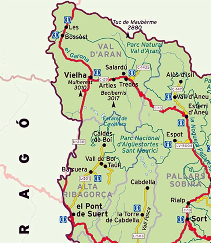 Caldes De Boi Mapa.Amazing Unknown Catalonia Enjoy Nature Culture Wine Tourism Ecotourism And Wine Holidays In Catalonia