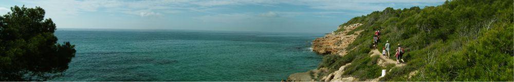 Caminando por la costa