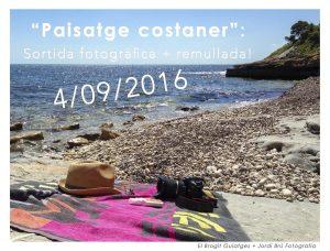 Excursió fotogràfica Paisatge Costaner