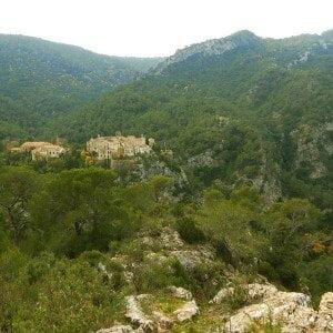 Ermites a la Serra de Cardó