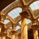 Old church in Corbera, Ebro Battle