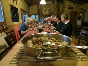 Mediterranean cuisine and walking holidays