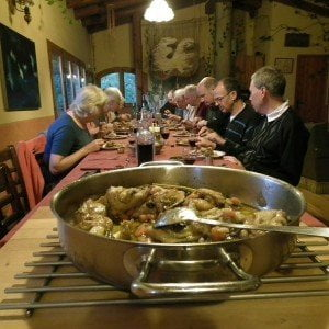 Mediterranean cuisine and walking holidays