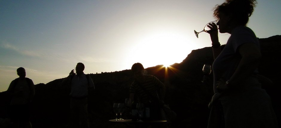 Night wine tourism and walks