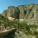Walking es Estrets canyon, Els Ports