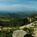 Priorat a vista d'ocell des de Montsant