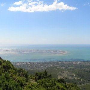 Foradada, Serra de Montsià i Delta de l'Ebre