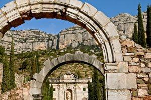 Cartoixa d'Scaladei, a peu de Montsant, al Priorat